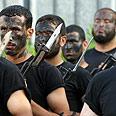 Hamas men in Gaza Photo: AFP