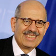 Outgoing IAEA chief Mohamed ElBaradei Photo: AFP