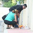 Mourning Asaf Ramon Photo: Ofer Amram