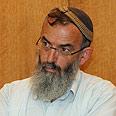 Rabbi Stav. Supports move Photo: Dana Kopel