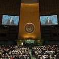 'Easier to switch vote.' UN General Assembly Photo: AFP