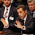 'Talk is nice.' Sarkozy addresses Security Council Photo: Reuters