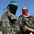 Hamas gunmen Photo: AFP
