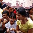 Victims of Typhoon Ketsana Photo: Reuters