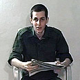Shalit in a Hamas video (archive) Photo: AFP