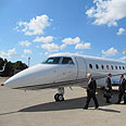 IAI executive jet (archives) Photo: Gil Kol