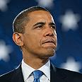 Bolstering his determination. Obama Photo: AFP