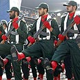 Trained militants. Iran's Revolutionary Guards Photo: AFP