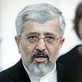 Iranian delegate to talks Photo: Reuters