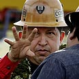 Chavez. Offers to send fuel Photo: Reuters