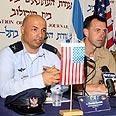 Gavish (L) and Richardson Photo: Ofer Amram