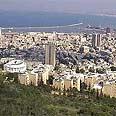 Haifa. A many as 40 hotel projects underway Photo: GPO