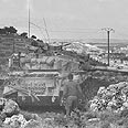 IDF tanks in south Lebanon Photo: GPO