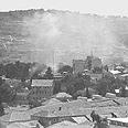 Jerusalem bombed (Archives) Photo: GPO