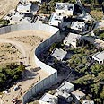 Letter calls fence 'apartheid wall' Photo: AP