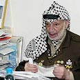 'Only in this way will we be able to defeat the Jews.' Arafat Photo: AFP
