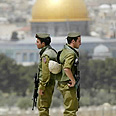 The Temple Mount Photo: AFP