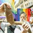 Pride march in Jerusalem Photo: AP