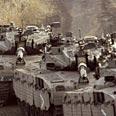 IDF training in the north Photo: AP