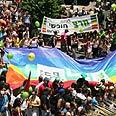 Gay parade in Tel Aviv Photo: Ofer Amram