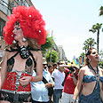 Gay pride in Tel Aviv Photo: Ofer Amram