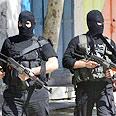 Gaza gunmen Photo: AFP