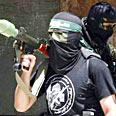Hamas member Photo: Reuters