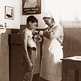 Measuring growth at school in Jerusalem 1936