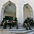Hamas gunmen. Executions underway? Photo: AFP