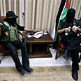 Hamas gunmen after takeover of Abbas offices Photo: AP