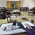 Abbas offices post-takeover Photo: AP