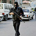 Hamas gunman (archives) Photo: AFP