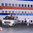 Qassam hits factory Photo: Benshli