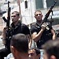 Fatah gunmen in Jenin Photo: AP
