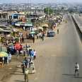 Nigeria. Complete lack of street lighting on major steets (archives) Photo: Reuters