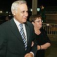 Katsav with his wife, Gila Photo: Ido Erez