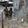 Palestinian gunmen in Gaza Photo: AFP
