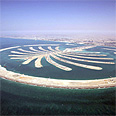 Artificial island in Dubai Photo: EPA