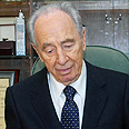 Peres. 'Hamas must change its policy' Photo: Avi Ohayon, GPO