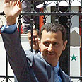 Assad. The host Photo: AFP