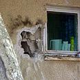 House damaged by Qassam Archive photo: Yael Livne, Shachar Or