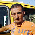 Kidnapped Palestinian taxi driver Photo: Samih Shahin
