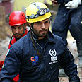 Rescue efforts in Pisco Photo: AFP