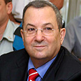 Defense Minister Barak Photo: Gil Yohanan