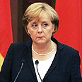 Merkel: Stands with Israel Photo: Reuters