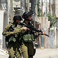 IDF soldiers in Qalqilya (archives) Photo: AFP