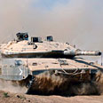 IDF tank in Gaza (archives) Photo: AFP