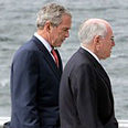 John Howard and George Bush Photo: AP