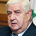 Moallem. 'Everyone will lose' Photo: AP