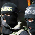 Jihad gunmen Photo: AFP